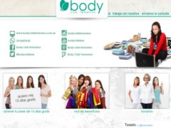 BODY - CLUB FEMENINO